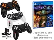 PS4: Jogo ARMAGALLANT - DECKS OF DESTINY Com ou Sem Comando Com ou Sem Fios.