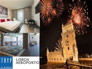 TRYP LISBOA AEROPORTO HOTEL 4*: Réveillon com Alojamento, Jantar, Bebidas, Música e Animação.