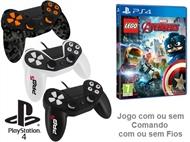 PS4: Jogo LEGO - MARVEL AVENGERS com ou sem Comando com ou sem Fios.
