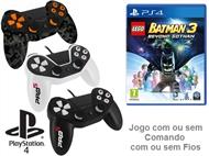 PS4: Jogo LEGO - BATMAN 3 BEYOND GOTHAM com ou sem Comando com ou sem Fios.