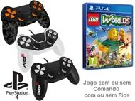 PS4: Jogo LEGO - WORLDS com ou sem Comando com ou sem Fios.