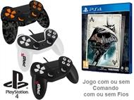 PS4: Jogo BATMAN - RETURN TO ARKHAM com ou sem Comando com ou sem Fios.