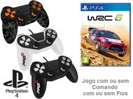 PS4: Jogo WRC 6 com ou sem Comando com ou sem Fios.