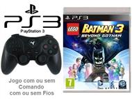 PS3: Jogo LEGO - BATMAN 3 BEYOND GOTHAM com ou sem Comando com ou sem Fios.