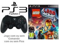 PS3: Jogo LEGO - MOVIE VIDEOGAME com ou sem Comando com ou sem Fios.