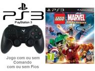 PS3: Jogo LEGO - MARVEL SUPER HEROES com ou sem Comando com ou sem Fios.