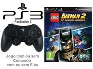 PS3: Jogo LEGO - BATMAN 2 DC SUPER HEROES com ou sem Comando com ou sem Fios.
