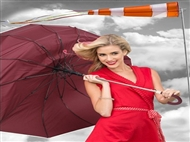 Guarda-chuva Anti-Vento com Abertura Automática. Várias cores. PORTES INCLUIDOS.
