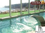 Miramar Hotel & SPA 4*: Fuga à Nazaré com Pequeno-Almoço & Circuito de SPA com Vista sobre o Mar.
