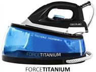 Ferro de Engomar a Vapor na Vertical ou Horizontal com Caldeira de 2400W. Para roupas impecáveis.