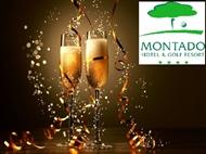 Réveillon no Montado Hotel & Golf Resort 4*: 1 ou 2 Noites com Jantar e Animação. Feliz Ano Novo.