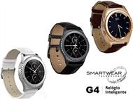Relógio Inteligente G4 com 3 Cores à escolha. SmartWear Technology with Style. PORTES INCLUIDOS.