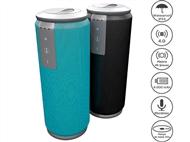 Coluna Portátil de 5Wx2 Resistente à Água com 2 Cores à Escolha, Bluetooth, Microfone e Mãos-livres