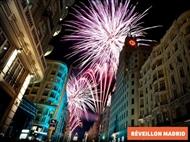 Réveillon em MADRID: 2 ou 3 Noites com REGIME à sua escolha, Hotel 3* com Jantar de Gala.
