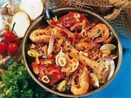 Cataplana de Marisco ou de Peixe para 2 pessoas no Restaurante Garphus em Lisboa.