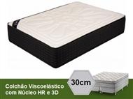 Colchão Viscoelástico Firenze 3D Sensitive com 30 cm de Altura e Núcleo HR. PORTES INCLUÍDOS.