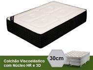 Colchão Viscoelástico Milan 3D Royal com 30 cm de Altura e Núcleo HR. PORTES INCLUÍDOS.