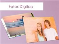 Impressão Digital de 100+8 Fotografias em Papel Couché de 250g Matte sem Brilho com Formatos de 10x1