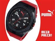 MEGA PREÇO: Relógio de Pulso PUMA Iconic Black & Red. PORTES INCLUÍDOS.