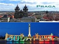 Praga & Budapeste: 4 Noites em 2 das cidades mais bonitas da Europa com Alojamento & Voos.