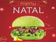 ESPECIAL NATAL: Hambúrguer Vegan, Acompanhamento, Bebida, Café e Sobremesa para 2 pessoas em Lisboa.