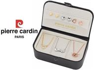 Conjunto Pierre Cardin com 3 Colares e 3 Pares de Brincos (Dourado, Prateado e Rosa).