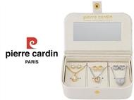 Conjunto Pierre Cardin PXX0168Q com 3 Colares, 3 Pares de Brincos e 3 Pendentes.