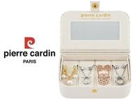 Conjunto Pierre Cardin PXX0200 com 4 Colares e 4 Pares de Brincos.