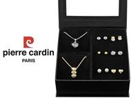 Conjunto Pierre Cardin Heart & Flower com 2 Colares e 6 Pares de Brincos.