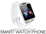 Smart Watch Phone Deluxe com Câmara, Bluetooth, USB, Micro SD, SmartWatch e SMS