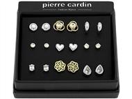 Conjunto Pierre Cardin PJJ0077 com 9 Pares de Brincos.