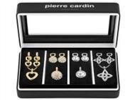Conjunto Pierre Cardin PXX0217 com 4 Colares e 4 Par de Brincos.