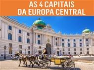 Circuito 4 Capitais da Europa Central: 8 Dias em Hoteis de 4* com TUDO INCLUÍDO, 9 Visitas e Voo TAP