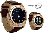 Relógio Telemóvel Inteligente G4 Dourado. SmartWear Technology with Style.