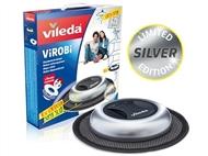 Mopa Robô ViRoBi Super Slim PRATA da Vileda que limpa a casa sozinho sem fios.
