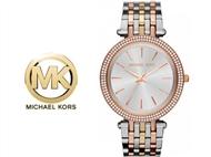 Relógio de Pulso Michael Kors Darci Silver Gold Rose. Um presente para um amor atemporal.