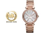 Relógio de Pulso Michael Kors Mini Parker Rose Gold. Um presente para um amor atemporal.