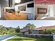 Casas do Telhado: Estadia 2 Noites de Charme com Pequeno-almoço, Jantar e Bebidas perto do Porto.