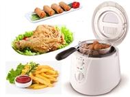 Fritadeira Convencional de 1800W para 2L. Prática, rápida e fácil de usar para o dia-a-dia