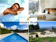 Golden Tulip Braga 4*: Estadia de 1 ou 2 Noites com Pequeno-almoço, Jantar e acesso ao SPA.