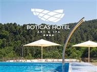 Boticas Hotel Art & Spa 4*: Estadia com Pequeno-Almoço, Welcome Drink, Jantar e Acesso ao SPA.