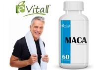 MACA da é-Vitall: Frasco de 60 Comprimidos para 30 Dias. PORTES INCLUÍDOS.
