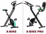 Bicicleta Estática de Manutenção Dobrável com 8 Níveis e 2 Modelos à Escolha