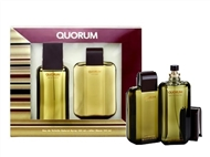 Coffret ANTONIO PUIG QUORUM para Homem: Eau de Toilette de 100ml e After-Shave de 100ml