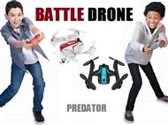 2 Drones BATTLE Predator. Ideal para batalhas entre 2 pessoas e fácil de comandar