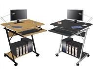 Secretária para Computador com Suporte para Teclado e 2 Cores à Escolha.