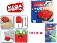MEGA OFERTA da VILEDA: Robot Aspirador VR101 + Luvas Extra Sensation Super Finas