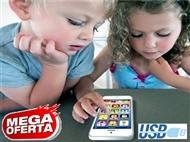 Kids Smartphone com Micro USB, 8 Funções Principais, Luzes LED e muito mais. PORTES INCLUÍDOS.
