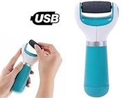 1 ou 2 Removedores de Calosidades USB 360° Portátil. Remove a pele endurecida em minutos