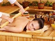 1 ou 4 Massagens com Bambu na NaturalMente em Massamá. Tudo o que o Seu Corpo e Mente Precisam!